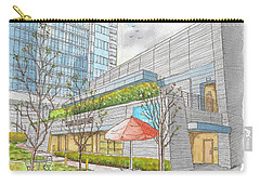 Anemberg Center In Century City, California Carry-all Pouch