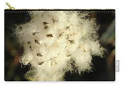 Carry-all Pouch featuring the photograph Anemone Explosion by Ann E Robson