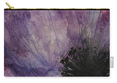 Carry-all Pouch featuring the painting Anemone by Marna Edwards Flavell
