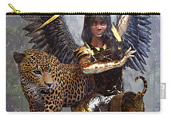 Angel 3 Carry-all Pouch by Suzanne Silvir