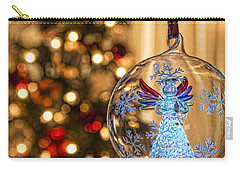 Carry-all Pouch featuring the photograph Angel Aglow by Bill Kesler