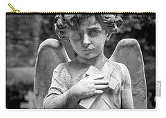 Angel And Cross Carry-all Pouch