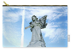 Angel And Crosses Carry-all Pouch