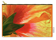 Carry-all Pouch featuring the photograph Angel Brushstrokes  by Marie Hicks
