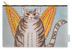 Angel Cat Carry-all Pouch