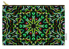 Angel Chaos Abstract Carry-all Pouch by Aliceann Carlton