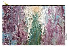 Angel Draped In Hydrangeas Carry-all Pouch