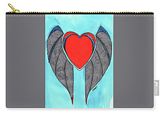 Angel Heart Carry-all Pouch by Ronald Woods