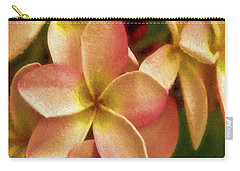 Angel In Bloom Carry-all Pouch