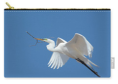 Carry-all Pouch featuring the photograph Angel In Flight by Fraida Gutovich
