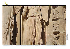 Angel In Reims Carry-all Pouch
