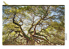 Angel Oak In Spring Carry-all Pouch