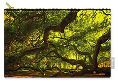 Angel Oak Limbs 2 Carry-all Pouch by Susanne Van Hulst