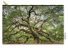 Angel Oak Tree Of Life Carry-all Pouch