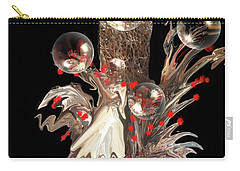 Angel Of Freedom Carry-all Pouch