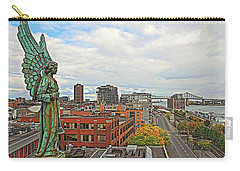 Angel Of Old Montreal Carry-all Pouch by Alice Gipson