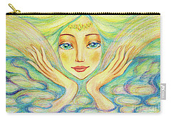 Angel Of Serenity Carry-all Pouch