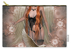 Angel Of The Ravens Carry-all Pouch