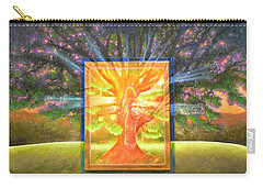 Angel Of The Trees Carry-all Pouch