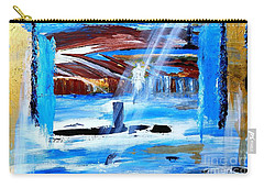 Angel Over Water Carry-all Pouch