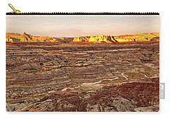 Angel Peak Badlands - New Mexico - Landscape Carry-all Pouch by Jason Politte