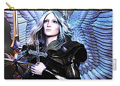 Angel Poster Carry-all Pouch by Suzanne Silvir