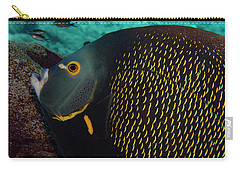 Carry-all Pouch featuring the photograph Angel Profile by Jean Noren