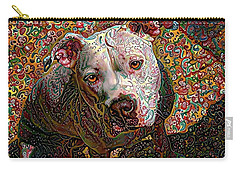 Angel The Pit Bull American Bulldog Carry-all Pouch