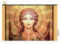 Angel Vision With Light - Green-gold Carry-all Pouch
