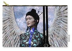 Angel Watercolor Carry-all Pouch by Suzanne Silvir