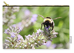 Carry-all Pouch featuring the photograph Angel Wings by Rasma Bertz