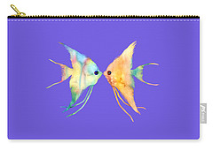 Angelfish Kissing Carry-all Pouch
