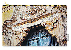 Carry-all Pouch featuring the photograph Angels In Rome Italy by Melanie Alexandra Price