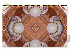 Angels In The Outfield Carry-all Pouch by Maria Watt