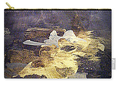 Carry-all Pouch featuring the painting Angels Over Palm Springs by Nancy Kane Chapman