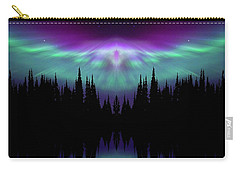 Angels Watching Over You Carry-all Pouch by Andrea Kollo