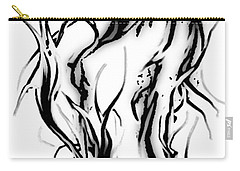 Carry-all Pouch featuring the painting Anger Management by Tbone Oliver
