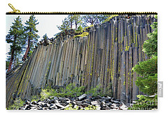 Angle View Desert Postpile Carry-all Pouch