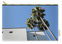 Angles And 3 Palm Tress Carry-all Pouch