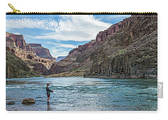 Angling On The Colorado Carry-all Pouch