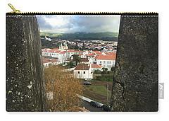 Angra Do Heroismo From Forte De Monte Brasil Carry-all Pouch