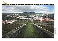 Angra Do Heroismo From The Fortress Of Sao Joao Baptista Carry-all Pouch
