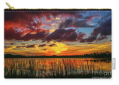 Angry Cloud Sunset Carry-all Pouch