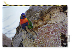 Angry Lorikeet Carry-all Pouch