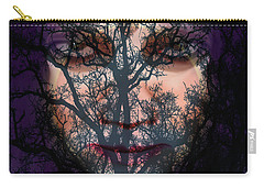 Angry Monster #5 Carry-all Pouch by Barbara Tristan