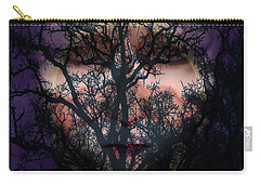 Angry Monster Child #5 Carry-all Pouch by Barbara Tristan