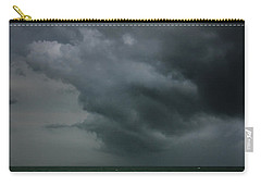 Angry Storm At Lido Beach Carry-all Pouch