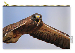 Angry Swainson's Hawk Carry-all Pouch