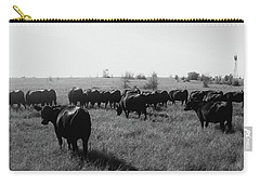 Angus Herd Cow Count Carry-all Pouch