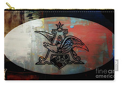Anheuser Busch Eagle Painted Carry-all Pouch